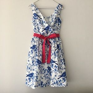 Bea & Dot by ModCloth Bird Print Dress